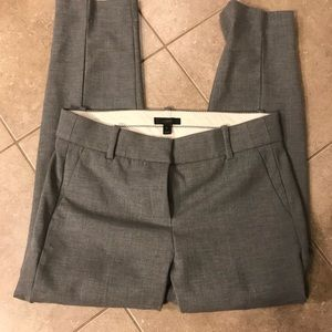 J Crew gray slacks size 8